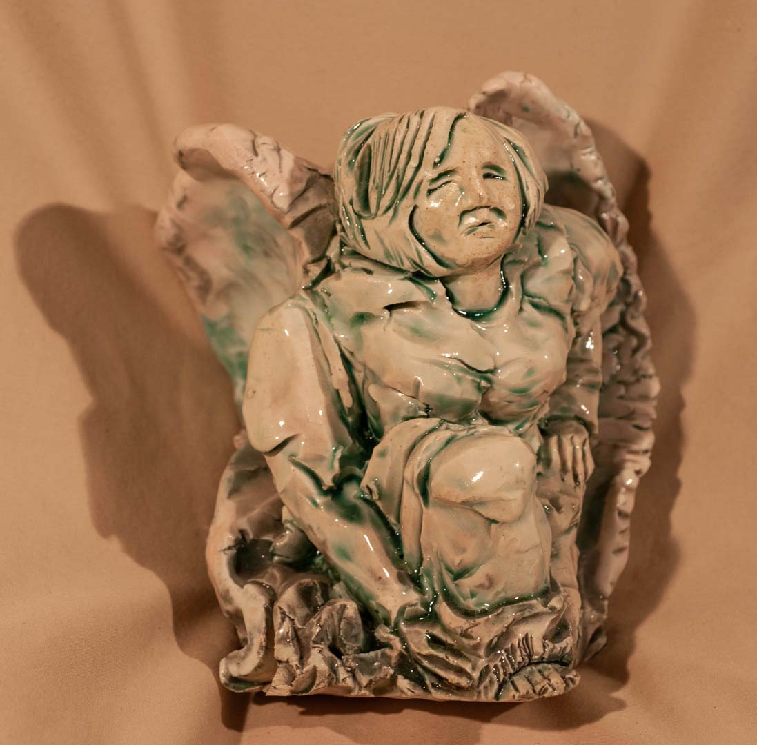 You are currently viewing Faience Green Angel