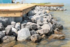 Some of Our Seawalls and Rip Rap