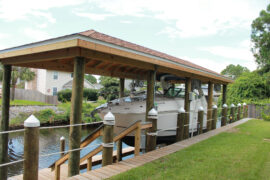 Some of Our Boathouse Projects
