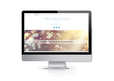 SEO Optimization for Wellness Renewal Counseling