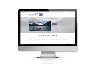 SEO and Website Updates for Amy Holewa Financial Services