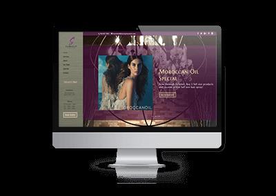 Website Design for StormyLee Salon & Spa