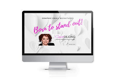 Email Signature for Independent Sales Director & Beauty Consultant for Mary Kay