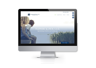 Website Design for Tuzinski and Zick, LLC Attorneys At Law