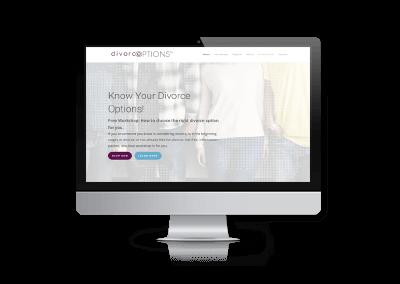 Website Design and Social Media for DivorceOptions MN