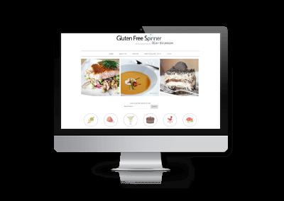 Website Updates for Gluten Free Spinner Blog