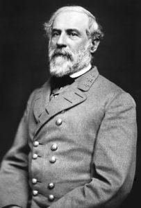 Confederate General Robert E Lee