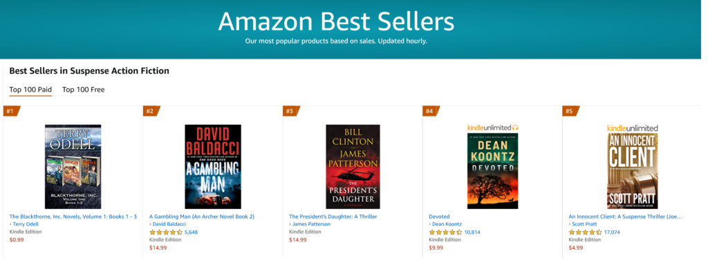 Best-selling authors
