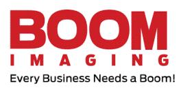 BOOM IMAGING Logo
