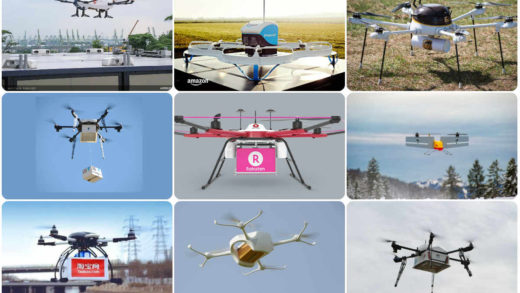 Top Drone Delivery Projects