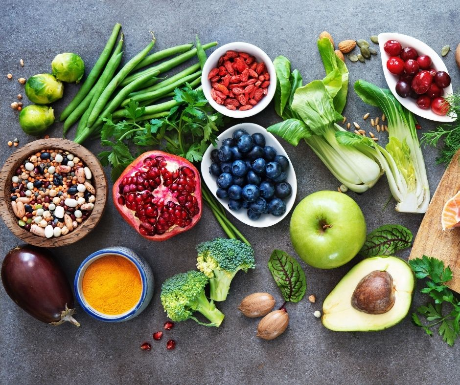 SOurces of collagen include healthy plant based foods