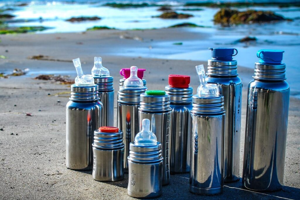 Pura Stainless Steel Bottles for the whole family