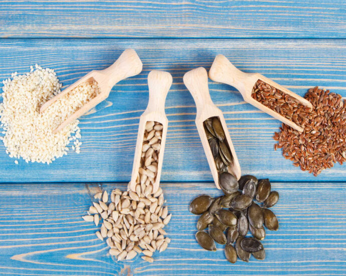 Rotate seeds for hormone health