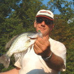 I caught this crappie in my pond
