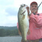Captain Mike with nice Guntersville bass