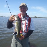 I caught this bass at Lake Seminole  on one of my St.. Croix rods