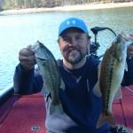 Allatoona bass caught on a crank bait