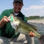 Pickwick bass caught on a crank bait in May