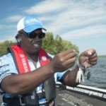 A spinnerbait is one of Is Monroe's confidence baits