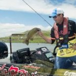 Jeff Kreit with a smallmouth caught finesse fishing