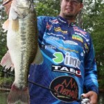 Mike Murphy caught this nice largemouth on topwater baits