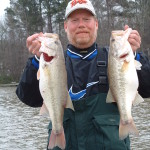 Roger caught these bass in Lake Oconee