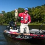 Kelly Jordan follows summer bass from shallow to deep water.