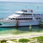 Take this ferry to teh Dry Tortugas