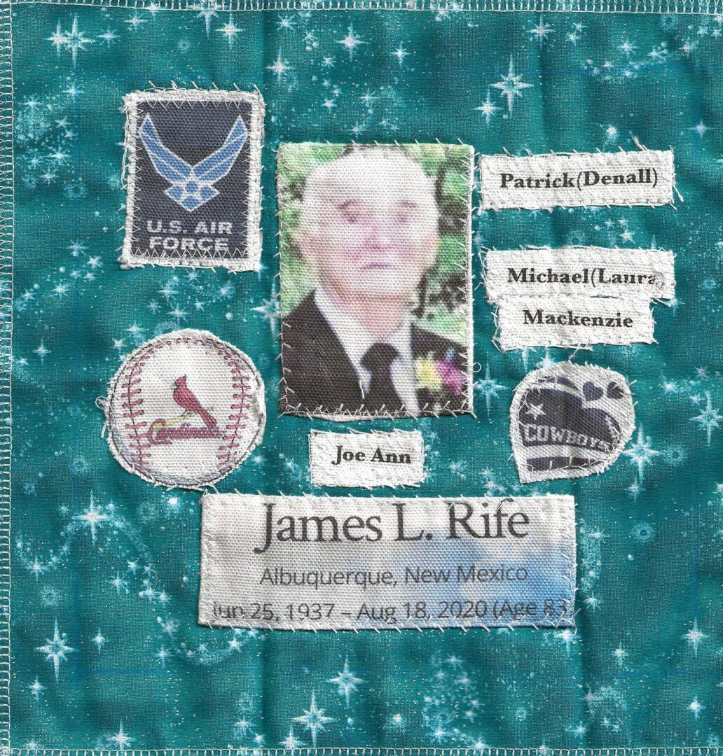 IN MEMORY OF JAMES L. RIFE