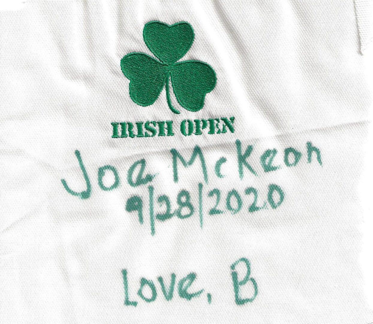IN MEMORY OF JOE McKEON - 9/28/2020