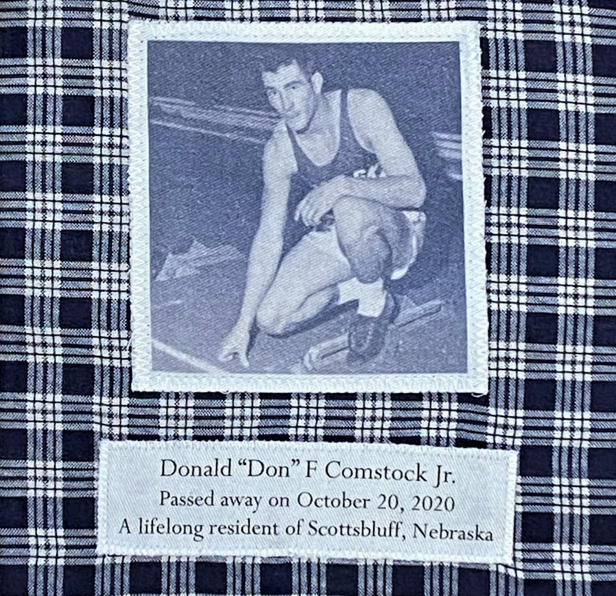 IN MEMORY OF DONALD F. COMSTOCK JR. - OCTOBER 20, 2020