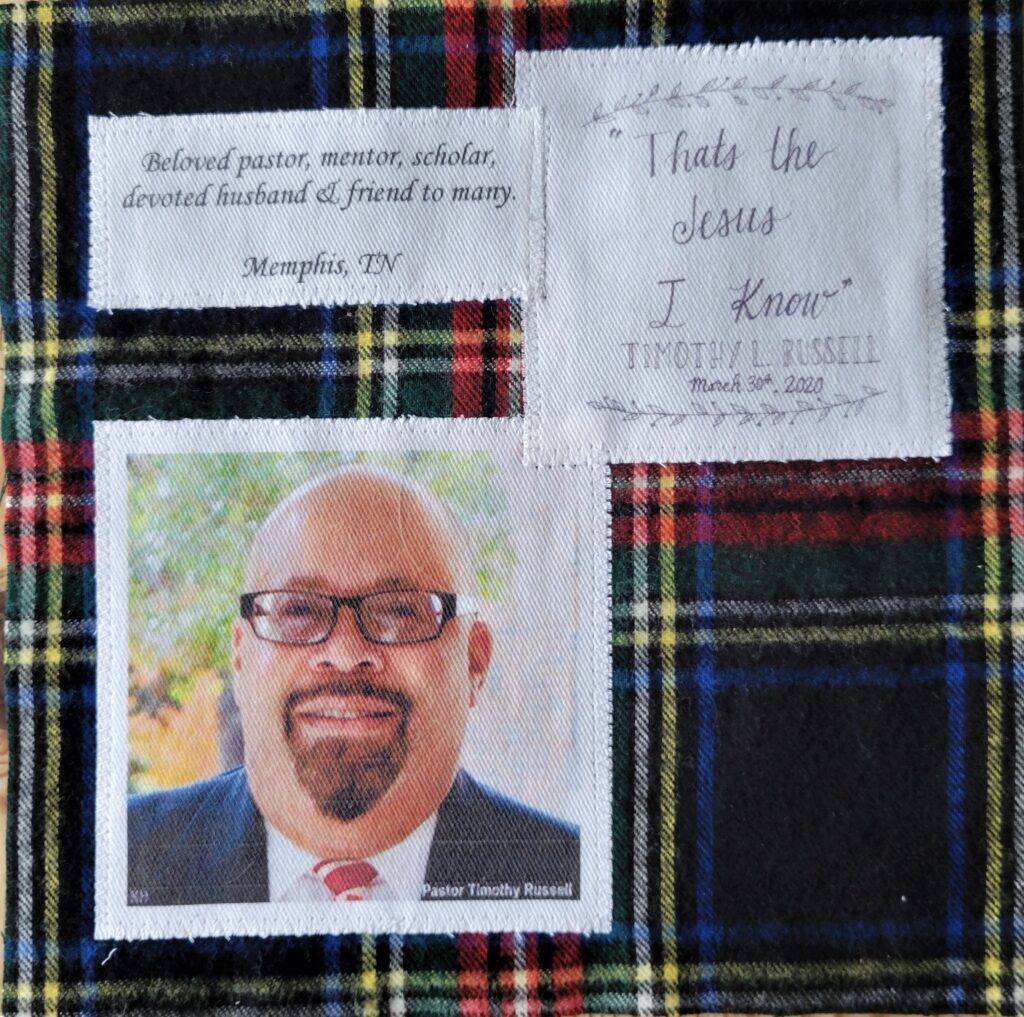 IN MEMORY OF TIMOTHY L. RUSSELL - SEPTEMBER 3, 1957 - MARCH 30TH, 2020