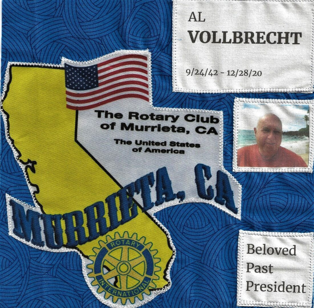 IN MEMORY OF AL VOLLBRECHT - 9/24/42 - 12/28/20
