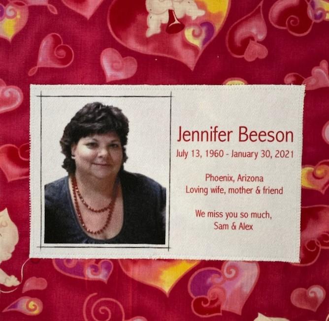 IN MEMORY OF JENNIFER BEESON - JANUARY 30, 2021