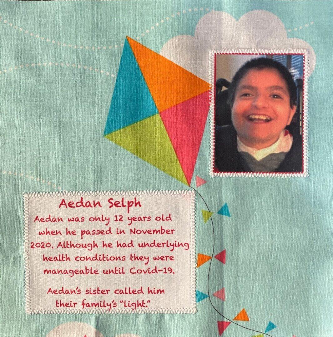 IN MEMORY OF AEDAN SELPH - Age 12, DIED NOVEMBER, 2020