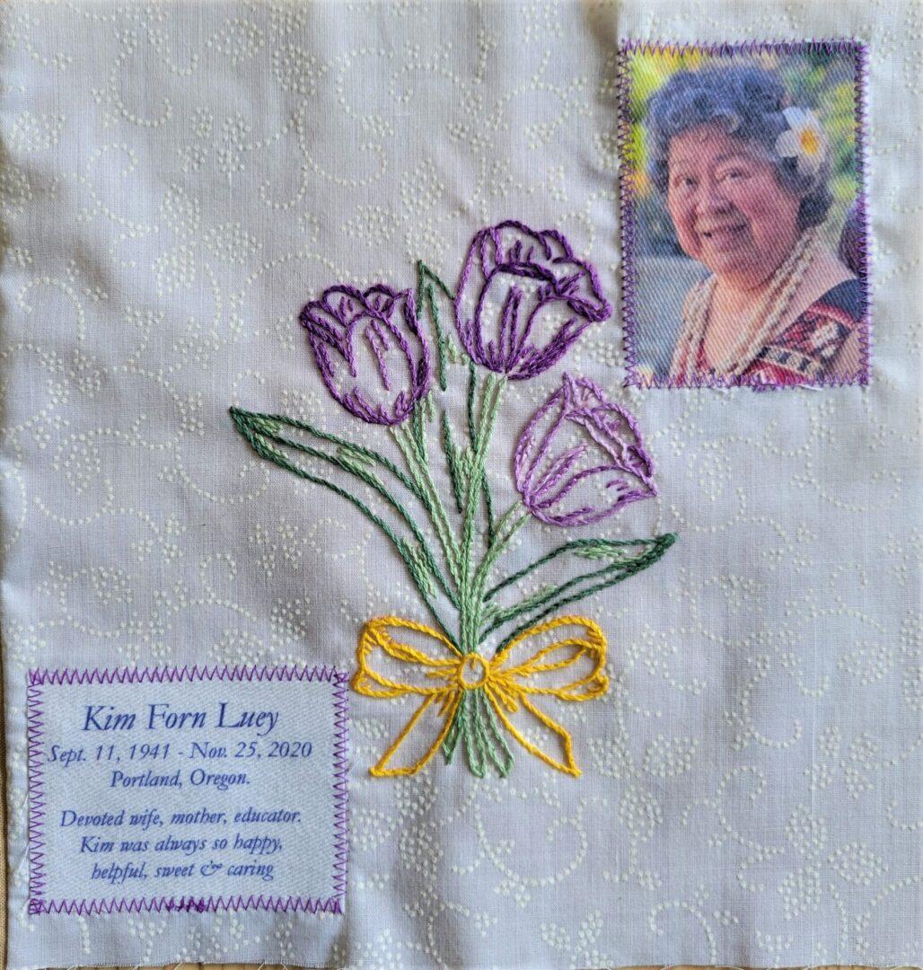 IN MEMORY OF KIM FORN LUEY - SEPT 11, 1941 - NOV 25, 2020