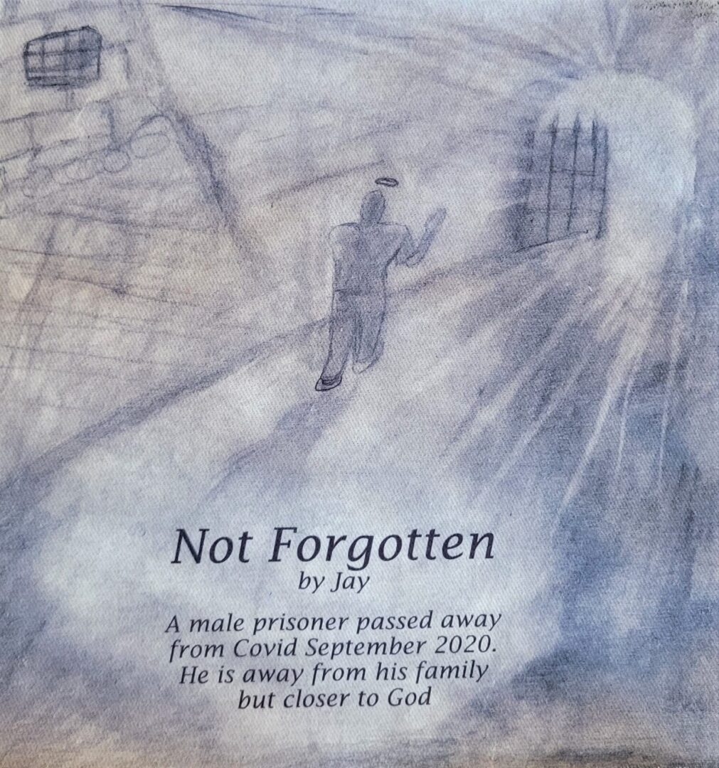 IN MEMORY OF A MALE PRISONER - NOT FORGOTTEN - SEPTEMBER 2020