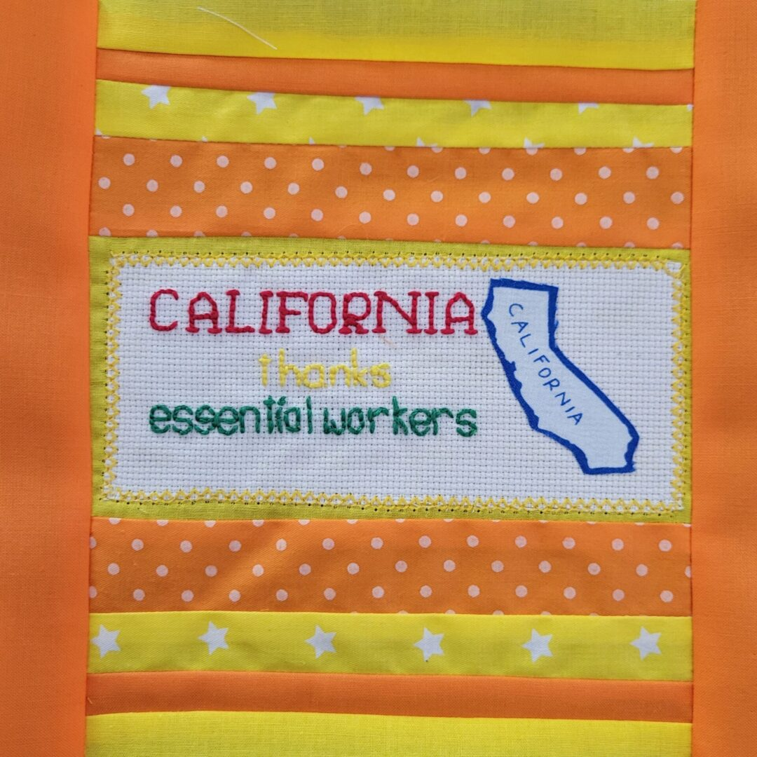 CALIFORNIA THANKS ESSENTIAL WORKERS