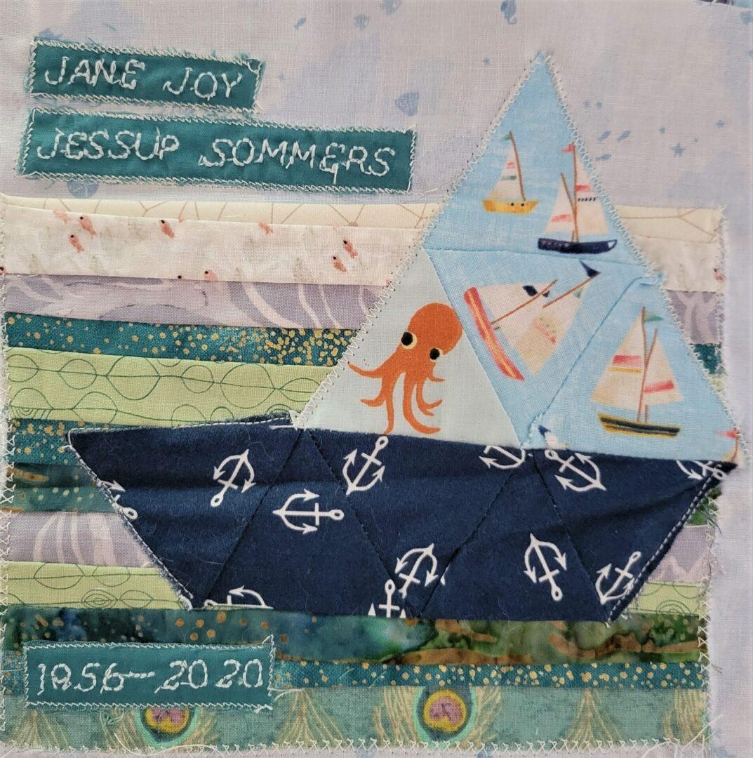 IN MEMORY OF JANE JOY JESSUP SOMMERS - 1956 - 2020