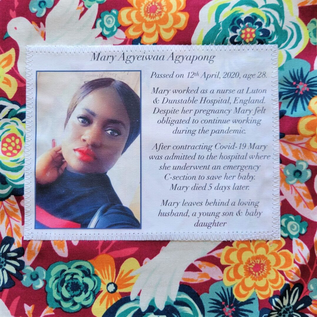 IN MEMORY OF MARY AGYEIWAA AGYAPONG - APRIL 12, 2020