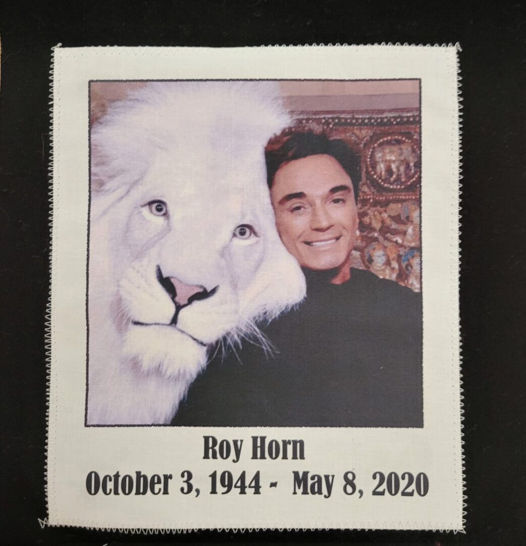 IN MEMORY OF ROY HORN - OCTOBER 3, 1944 - MAY 8, 2020