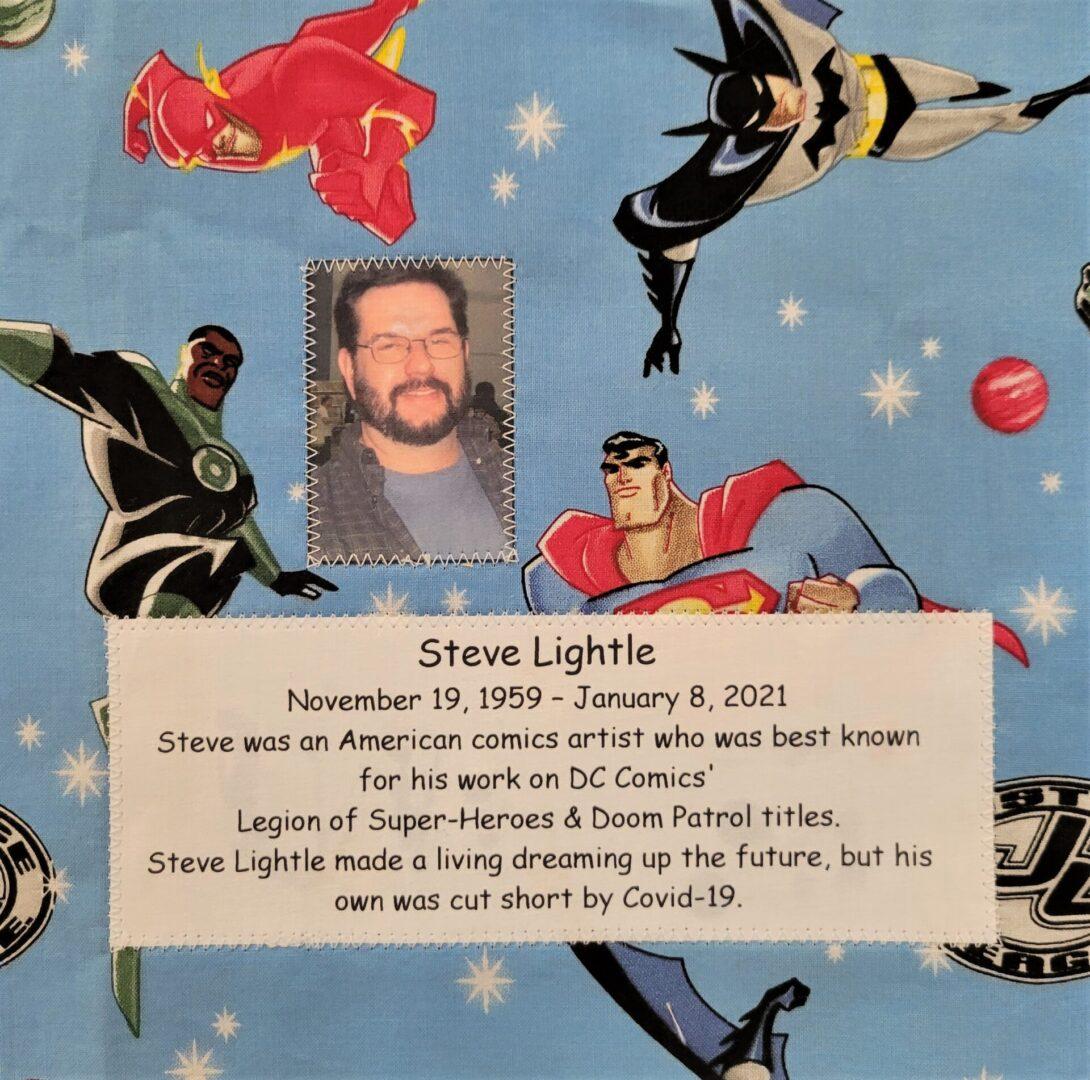 IN MEMORY OF STEVE LIGHTLE - NOVEMBER 19, 1959 - JANUARY 8, 2021