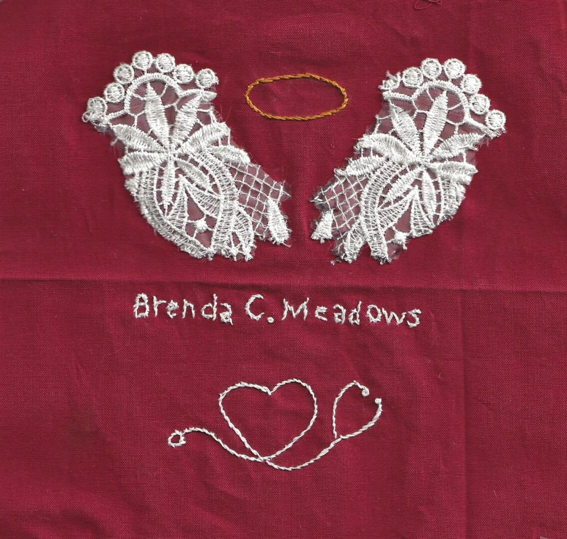 IN MEMORY OF BRENDA CHRISTOPHER MEADOWS -DIED MARCH 29, 2020