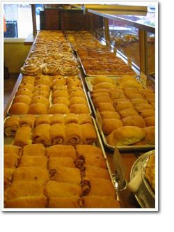 Cafe Kolache (Beaver, PA) - Food counter