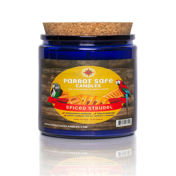 Spiced Strudel Candle - World's Safest Candles - Parrot Safe Candles