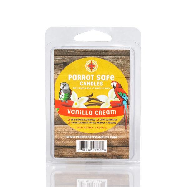 Vanilla Cream Wax Melt - World's Safest Candles - Parrot Safe Candles