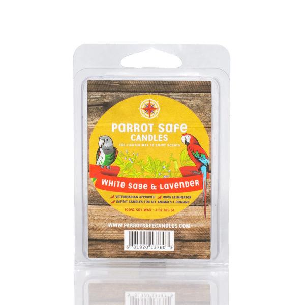 White Sage & Lavender - World's Safest Candles - Parrot Safe Candles