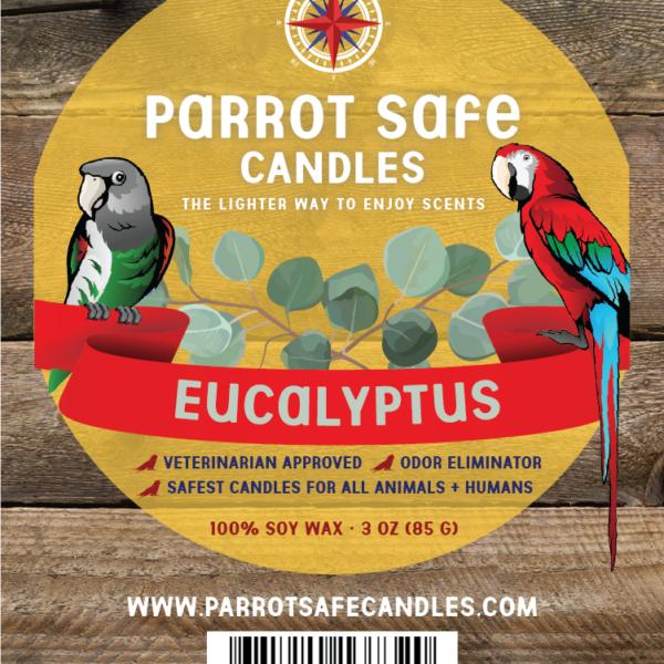 Eucalyptus Wax Melt - World's Safest Candles - Parrot Safe Candles