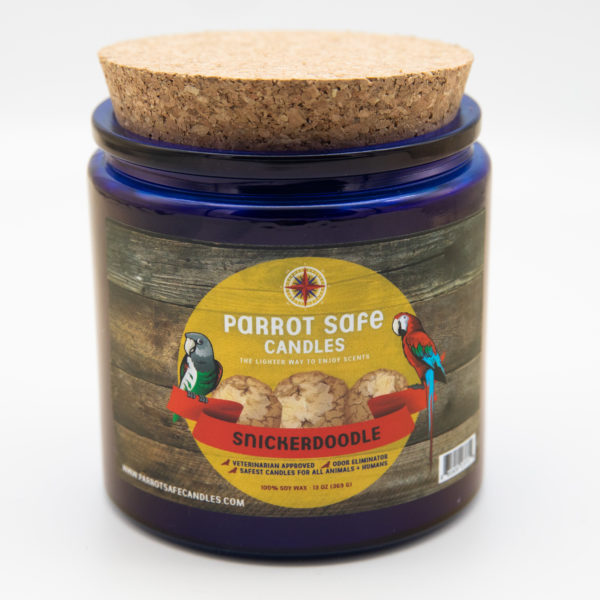 Snickerdoodle Candle - World's Safest Candles - Parrot Safe Candles