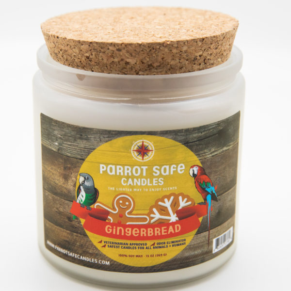 Gingerbread Candle - World's Safest Candles - Parrot Safe Candles